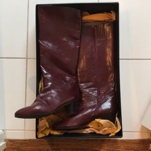 VINTAGE Bally Leather Boots